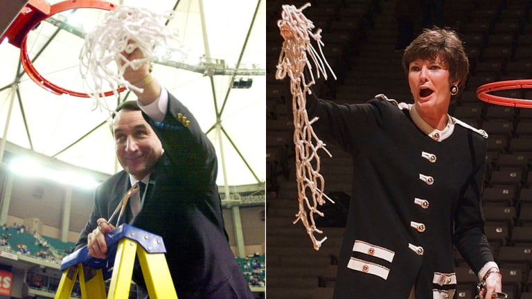 SPORTSMAN OF THE YEAR: Mike Krzyzewski / SPORTSWOMAN OF THE YEAR: Pat Summitt