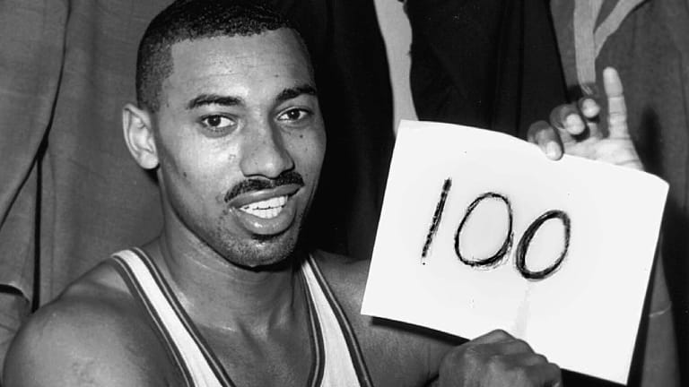Wilt Had Help When He Hit 100