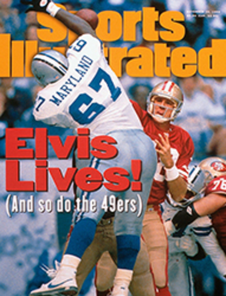 Vintage Sports Illustrated January 23 1995 49ers Steve Young