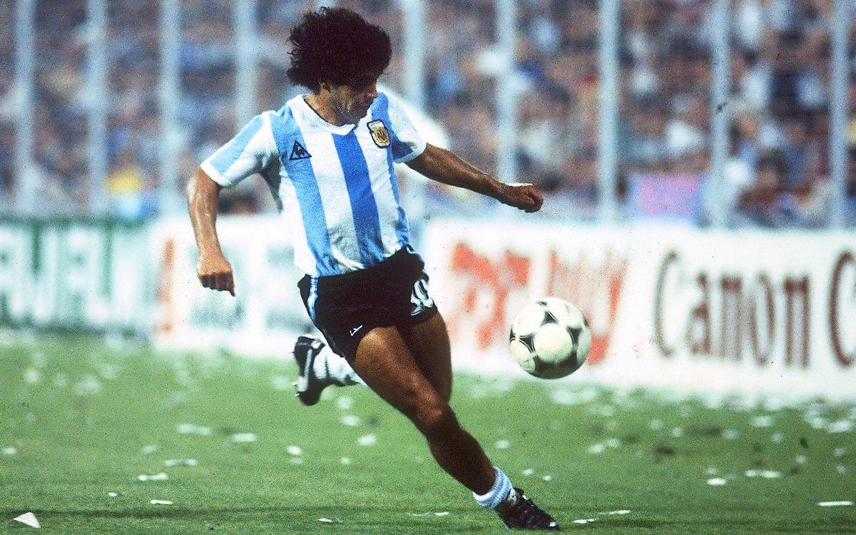 Argentina star Diego Maradona