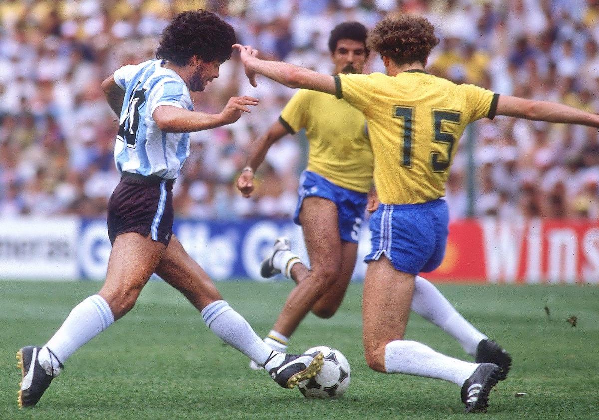 Diego Maradona vs. Brazil