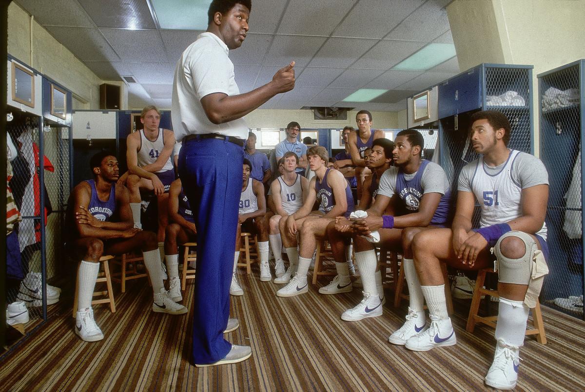 Georgetown coach John Thompson