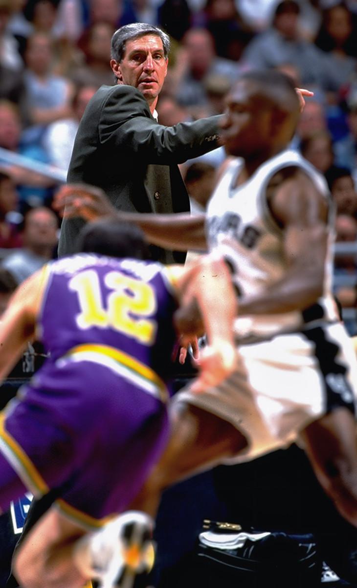 Jerry Sloan Utah Jazz Coach