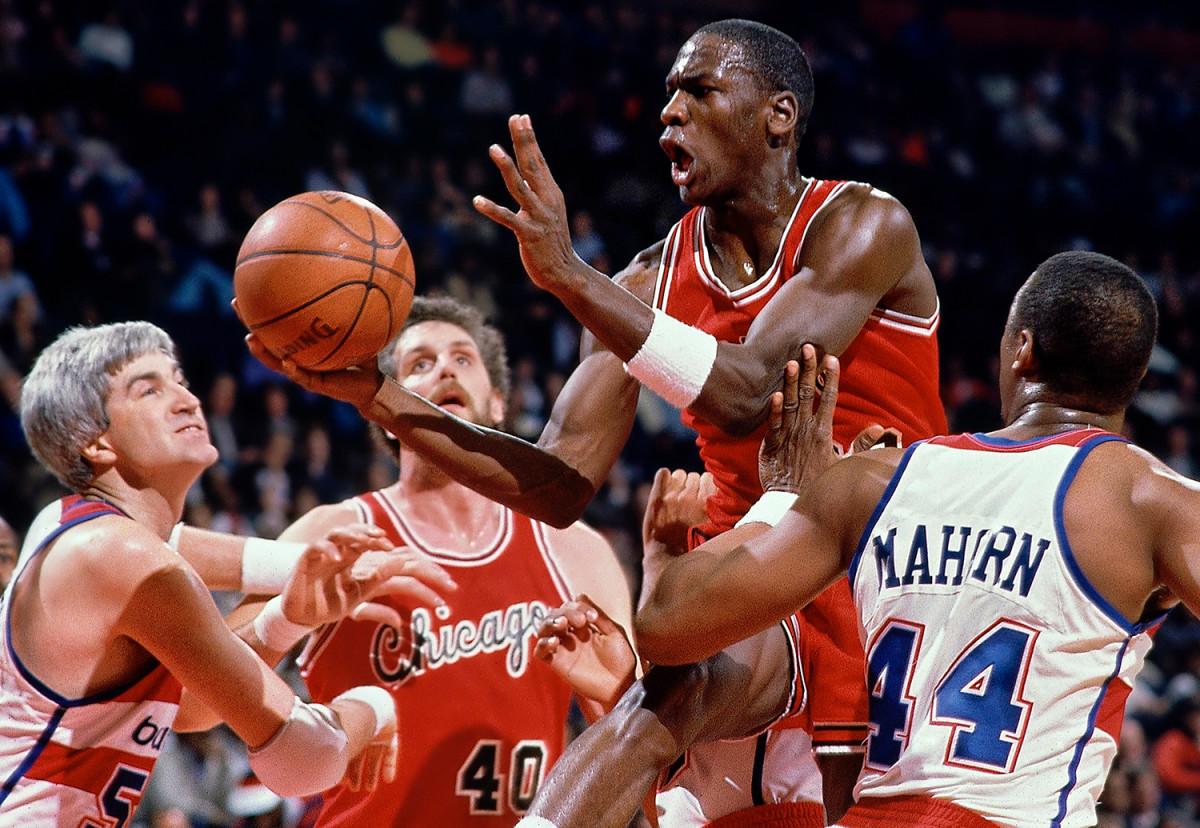 Michael Jordan Rookie Season Chicago Bulls