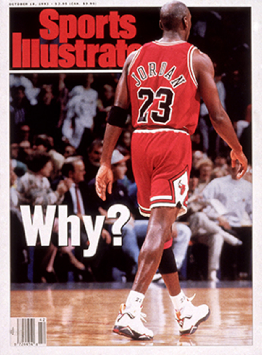 Michael Jordan 1993 retirement cover