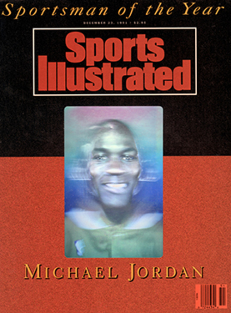 Michael Jordan Sportsman of the Year cover