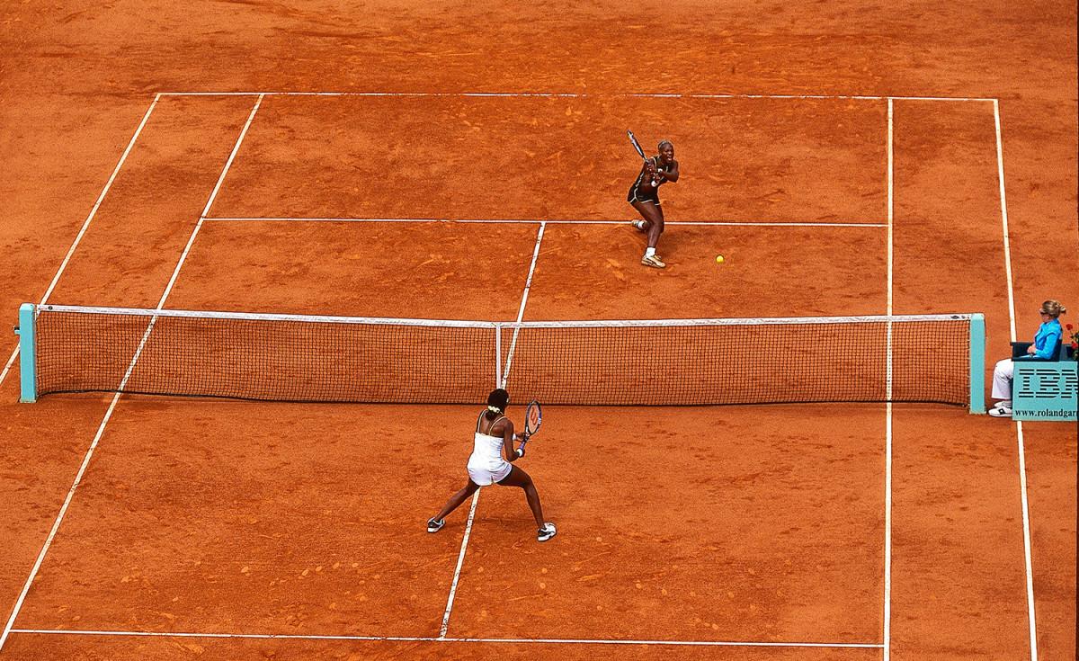 Serena Williams French Open 2002