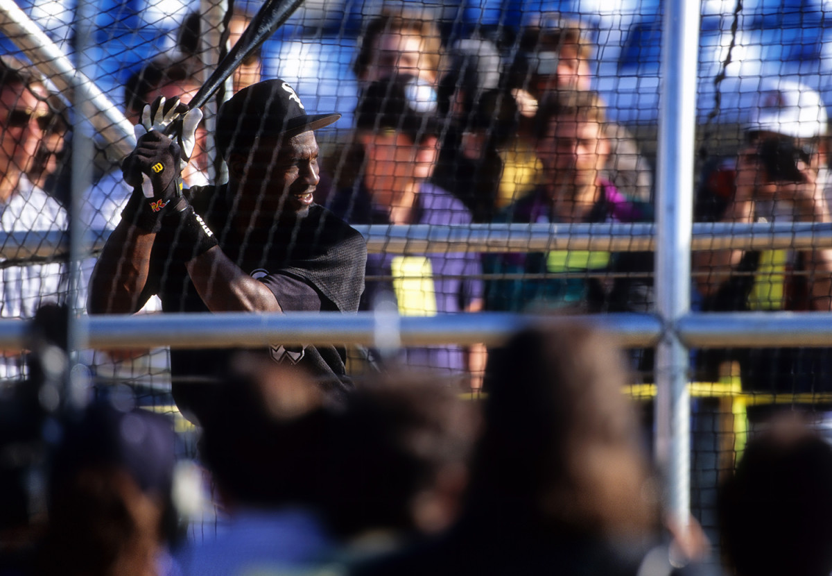Michael Jordan: Baseball career with Chicago White Sox