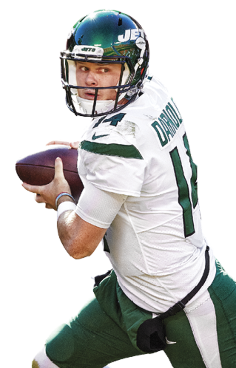 SAM DARNOLD Age: 23 The third pick of the 2018 draft has battled injuries and failed to meet expectations. Even if Deshaun Watson doesn't end up in green, the Jets hold the No. 2 choice in a QB-rich draft.