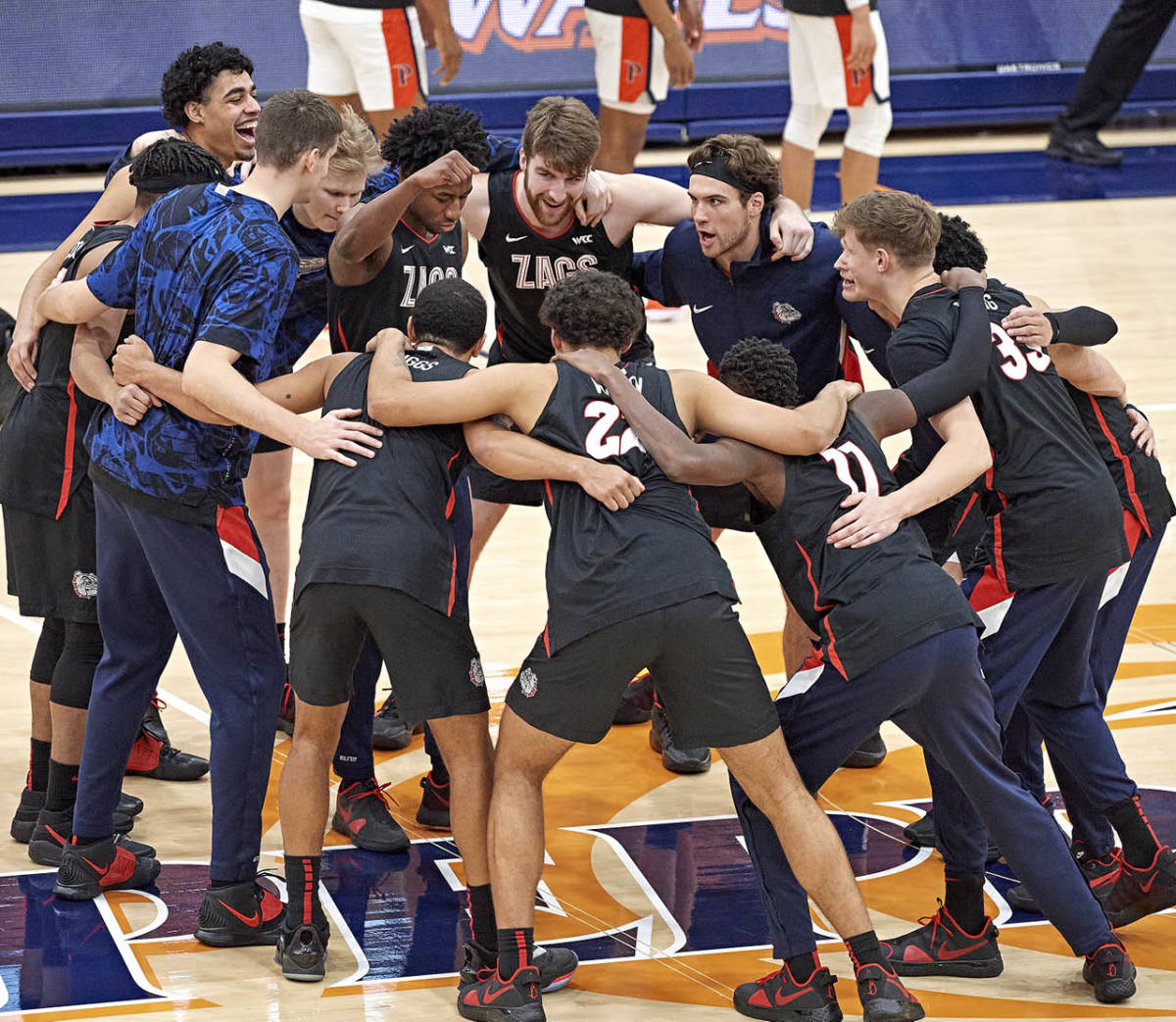 The Zags were the first team in NCAA history to beat four AP top-20 teams in their first seven games.