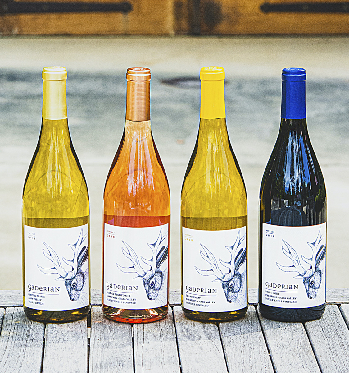 BOTTLE UP Gaderian is a two-person business, so Coughlin has a hand in virtually every aspect, including label design.