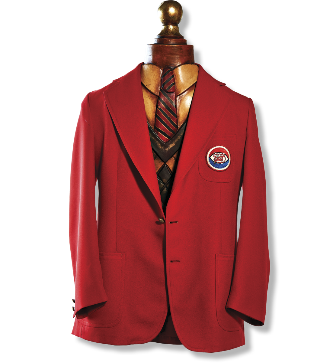 BLAZER Turetzky was easy to find during the '76 championship locker room celebration thanks to the bright-red blazer he wore, which no longer smells of champagne.