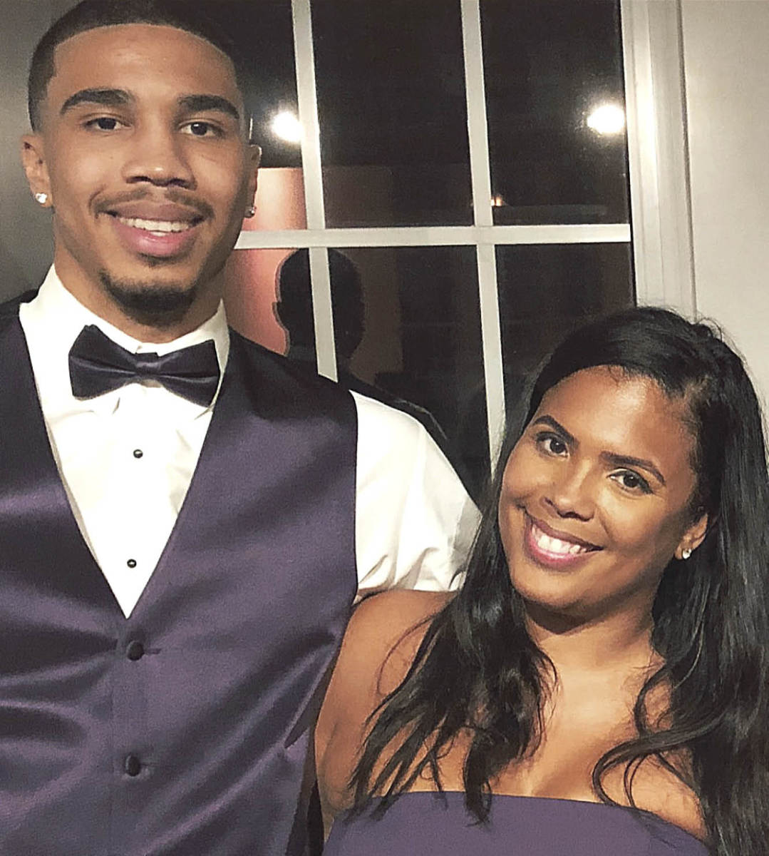 MAMA'S BOY Tatum owes much of his success to Brandy, who saw to it that her son went to the best schools and got the best training—all while she worked toward three degrees.