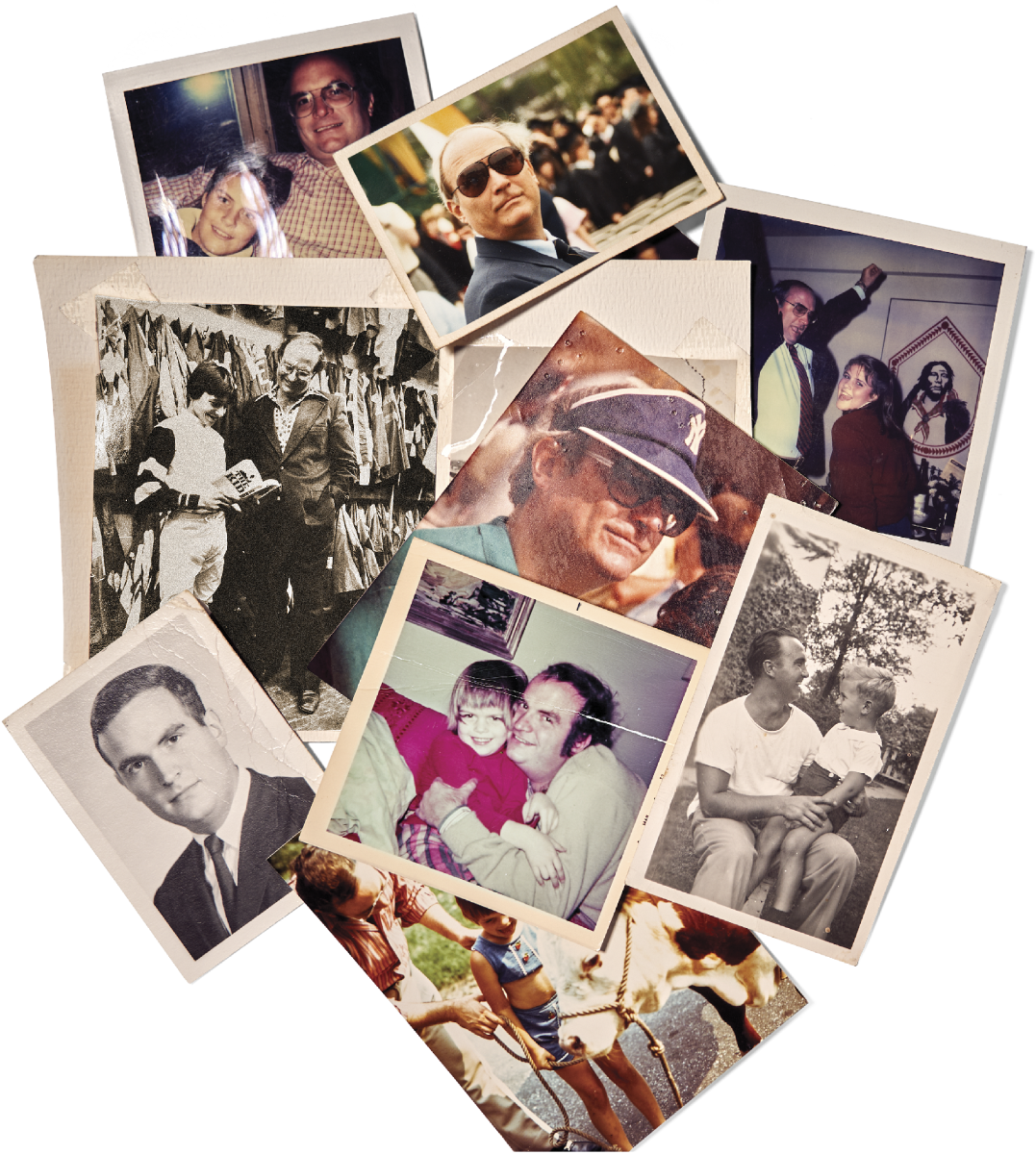 """PETE, YOUR WORDS . . . Prose aside, Megan remembers a """"charmed"""" childhood, captured in her photo collection. """"My dad spoiled me, for sure. He called me 'princess,' the 'perfect daughter.' """""""